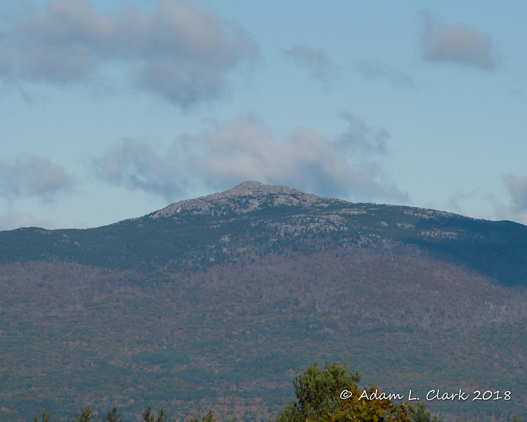 The summit of Mt. Monadnock