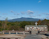 Mt. Monadnock behind the Alter of the Nation
