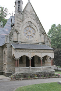 Civil War Chapel at Glendale Cemetary, Akron, Ohio
