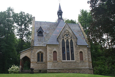 Civil War Chapel, Glendale Cemetery, Akron, Ohio