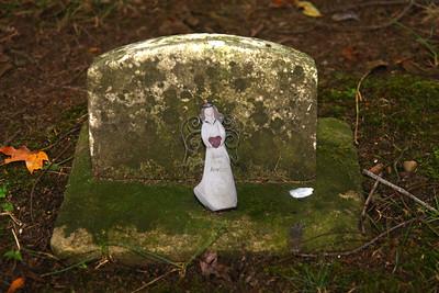 Tombstone in the Clinton, Ohio Cemetery