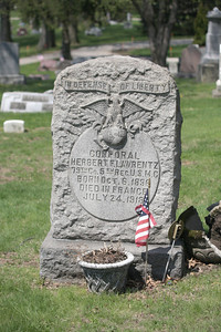 Died during WWI in France and buried in Tallmadge, Ohio