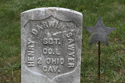 Henry Sawer - Grand Army of the Republic, 2nd Ohio Calvery, Westlawn Cemetery, Brimfield, Ohio