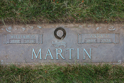 Grandma and Grandpa Martin, Hillside Memorial Park, Akron, Ohio