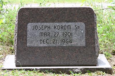 Grandpa Korom, Union Cemetery, Canal Fulton, Ohio