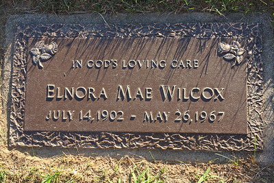 Grandma Wilcox (Korom), Greenlawn Memorial Park Cemetery, Akron, Ohio