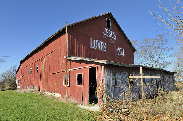 A barn on Yellow Springs Road.