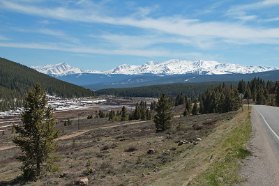 Looking toward Leadville, CO