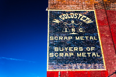 The M. Goldstein Scrap Metal Building