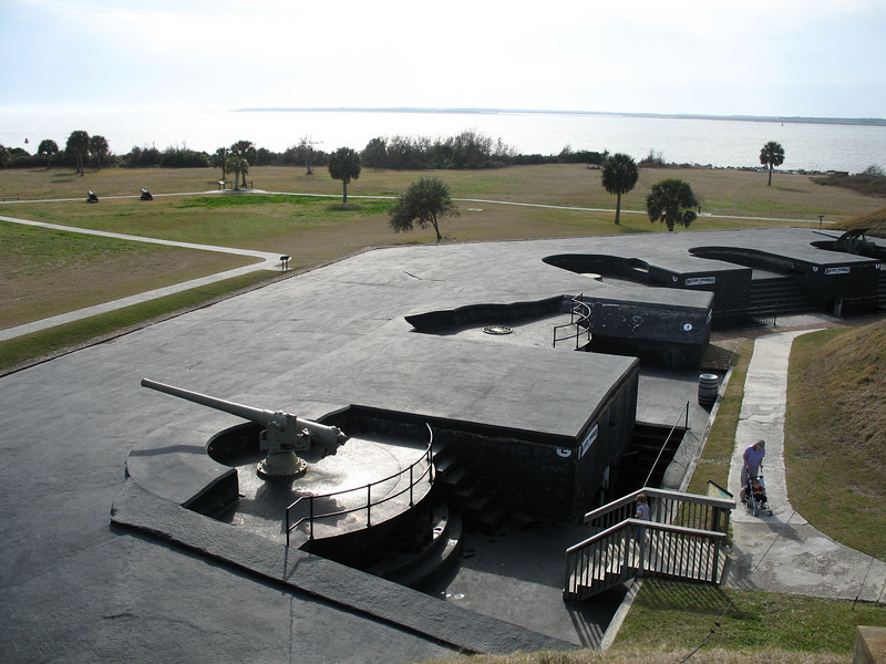 <b>Fort Moultrie - Battery Bingham & McCorkle</b> - This area represents the 1898-1939 period at Ft. Moultrie.