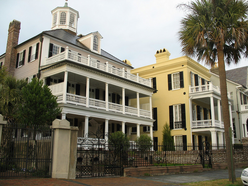 <b>Battery Homes</b> - Two elegant historic homes located along the Battery in Charleston. Imagine what these homes have witnessed!