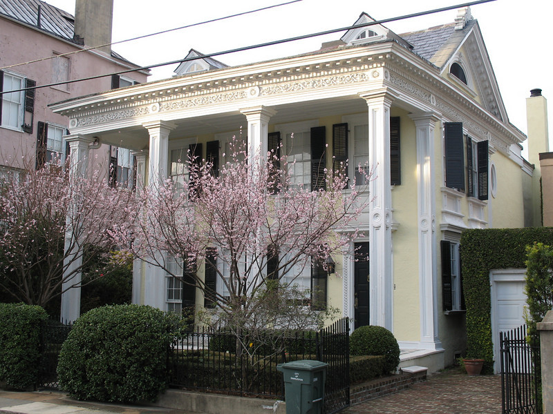 <b>Another Beautiful Old Home - Charleston</b> - There are no shortage of beautiful old homes in the historic center of Charleston. This home is located in one of the neighborhoods south of Broad Street.