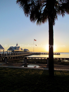 Waterfront Park Sunrise, Charleston, SC