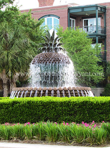 Pineapple Fountain, Charleston, SC