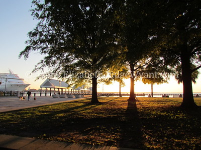 Water Front Park Sunrise, Charleston, SC