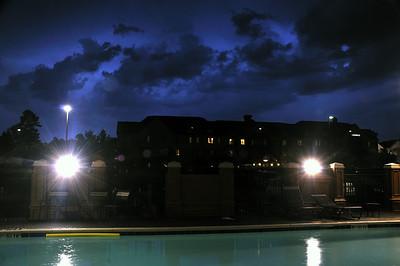 Thunderstorm over Arrowood, July 22 2008