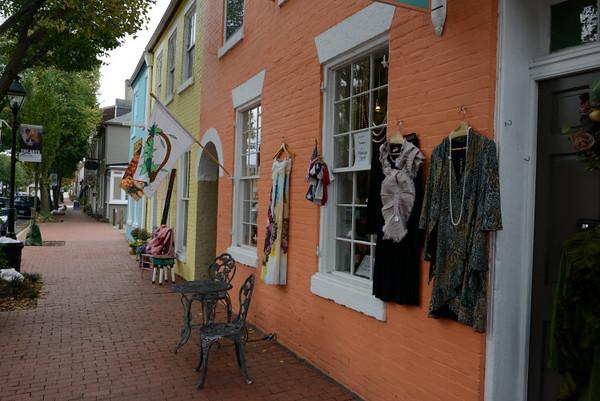 Caroline Street in Fredericksburg