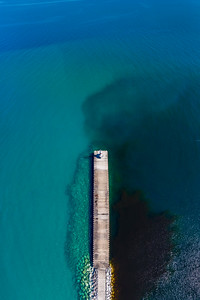 Petoskey Aerial Vertical Panorama
