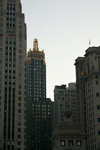 Gilded skyscraper