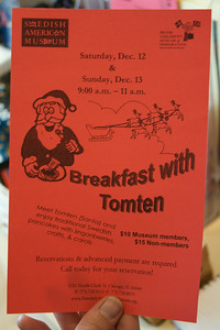 Breakfast with Tomten!