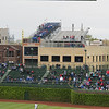 One of the unique things about Wrigley Field, is the bleachers on the rooftops of buildings across the street.