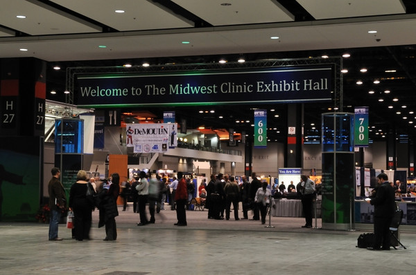 The McCormick Place Convention Center.