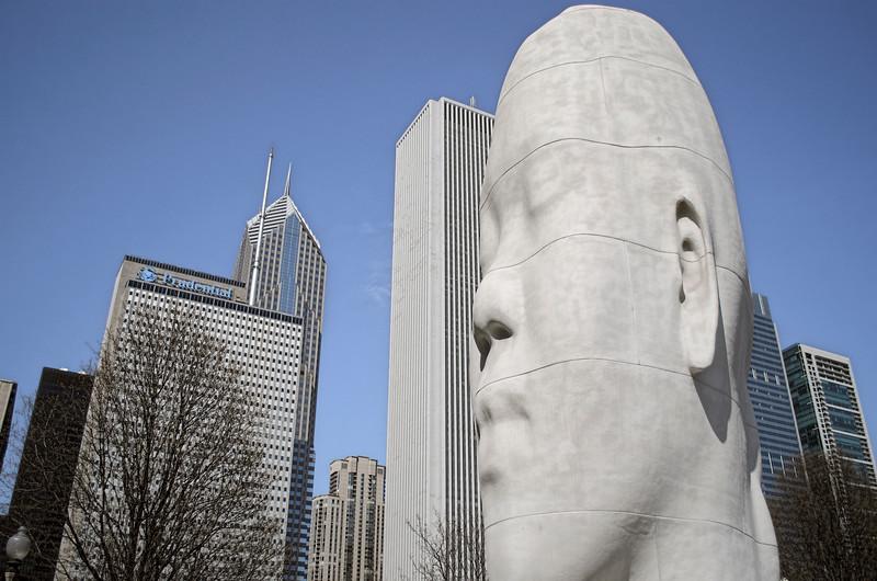 Chicago April 2015<br /> Millennium Park, Chicago Illinois USA