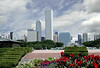 Buckingham Fountain and Aon Center