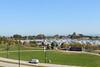 Adler Planetarium and Burham Harbor from Soldier Field
