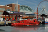 Fireboat at the Navy Pier