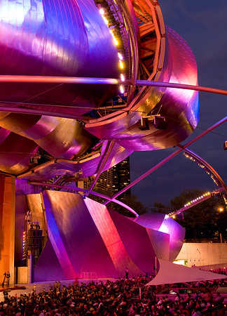 Millennium Park bandshell, Chicago