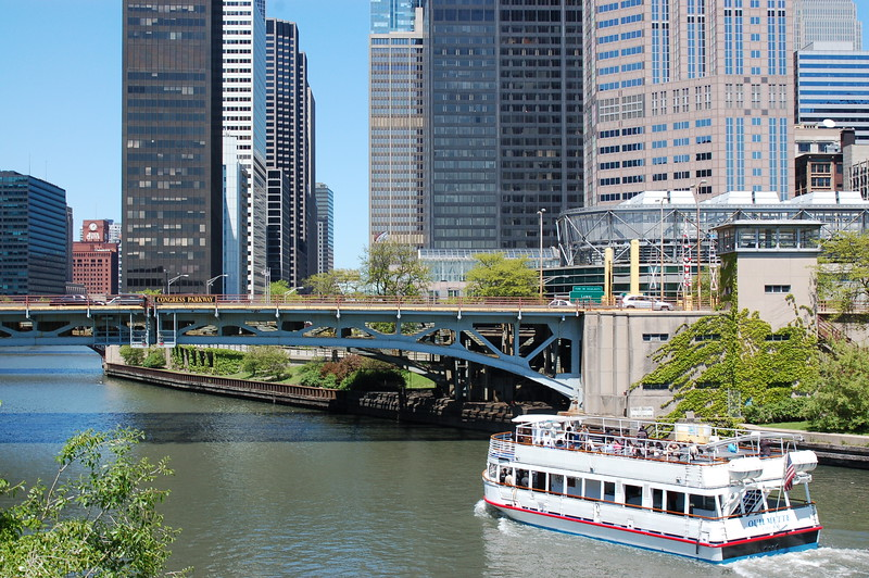 River in Chicago