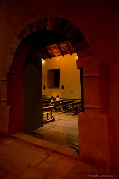 Solitude at the Church in San Pedro