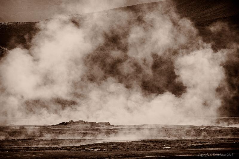 Back lit geysers