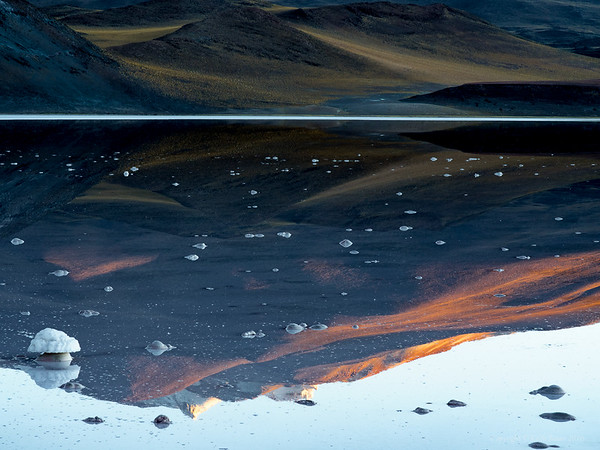 Morning Reflections in the Altiplano