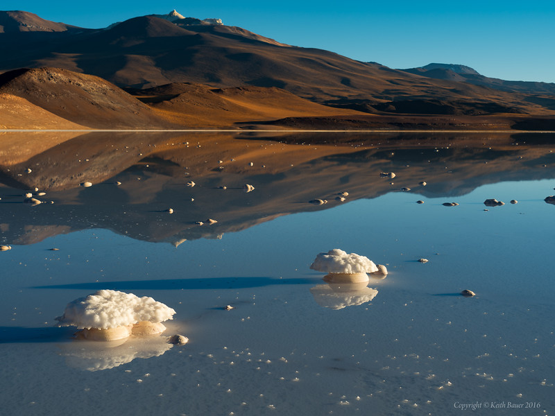 Mirror reflections high up in the Altiplano