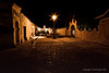 Charming town of San Pedro at Night