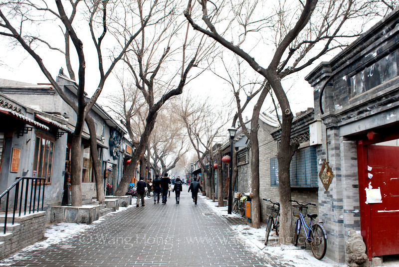 Nan Luo Gu Xiang in early morning after a light snow 小雪的清晨在南锣鼓巷