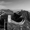 Jinshanling Great Wall in Feb. 2012 while walking with Beijing Hikers.  2012年春节参加Beijing Hikers 古北口至金山岭长城段的步行时拍摄的金山岭长城段。