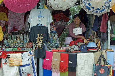 Vendors at Ming Tombs-Ming Dynasty Tombs-Beijing-China