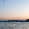 Kunming Lake and Seventeen-Arch Bridge, Summer Palace 昆明湖上的17孔桥
