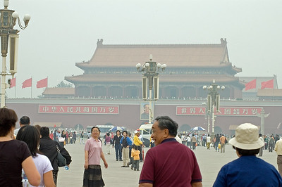 Tian'anmen Square/Forbidden City-Tian'anmen Square-Beijing-China