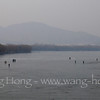 Frozen Kunming Lake, Summer Palace 颐和园里冻冰的昆明湖