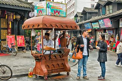Chengdu - Jinli Old Street shopping area