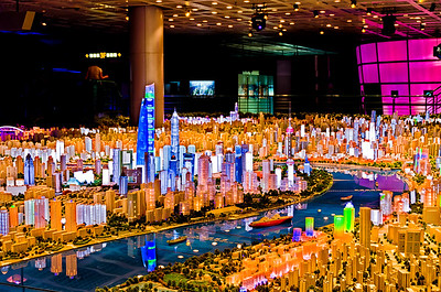 Shanghai Urban Planning Exhibition Hall