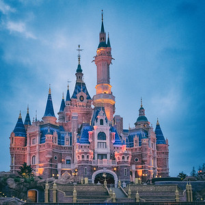 Disneyland Shanghai June 2016
