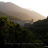 Tai Tam Intermediate Reservoir Dam in Tai Tam Country Park, south of Hong Kong Island