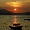Watching sunset from Yung Shue Wan, Lamma