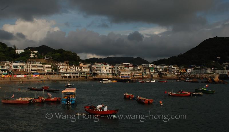 Yung Shue Wan, Lamma Island.