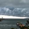 Storm to engulf the island, Yung Shue Wan, Lamma Island.